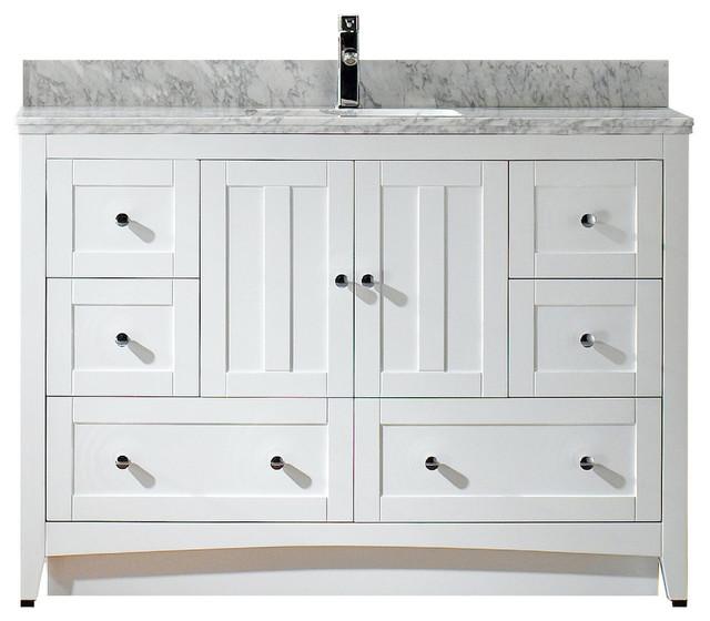 veneer vanity base set only white 47 5 x18 modern bathroom vani