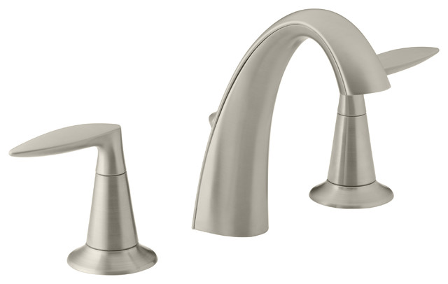 KOHLER K 45102 4 BN Alteo Widespread Bathroom Sink Faucet