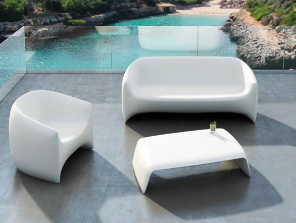 Vondom Blow Sofa Contemporary Garden Sofas Other Metro By