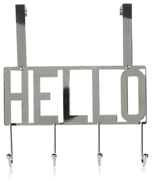 Hello portant pat re 4 crochets contemporain porte for Porte manteau alinea