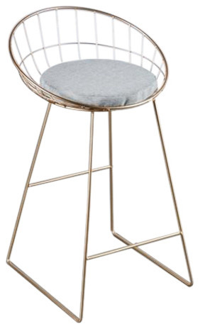 Kylie Wire Bar Chair Contemporary Bar Stools And