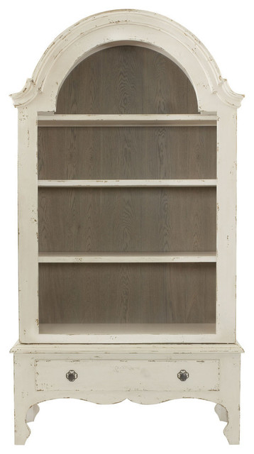 Bernhardt Auberge Display Cabinet, Vintage White - China Cabinets And Hutches - by Bedroom ...