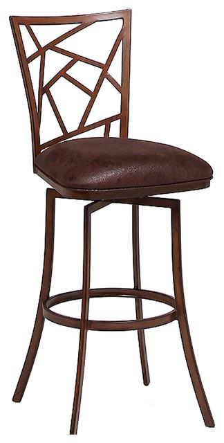 Homestead swivel barstool traditional bar stools and - Traditional kitchen bar stools ...