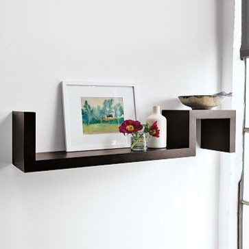 S Wall Shelf | west elm - Modern - Display And Wall Shelves - by West Elm