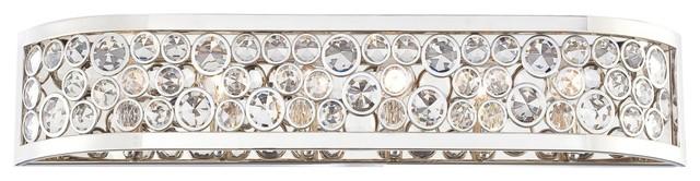 Magique Crystal Accent 6 Light Bathroom Vanity Bar N2756-613 - Contemporary - Bathroom Vanity ...