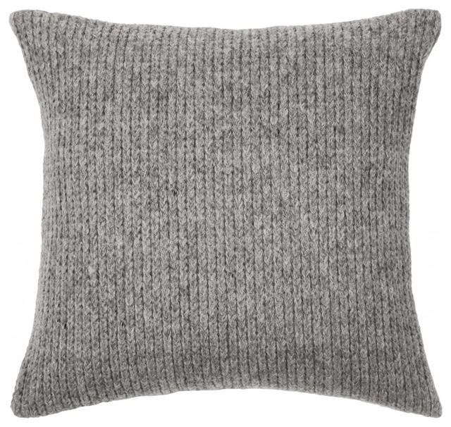 kissenbezug troje 45x45 cm hellgrau minimalistisch. Black Bedroom Furniture Sets. Home Design Ideas