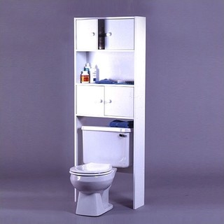 Carina Collection 4 Door Space Saver Shelf Modern Bathroom Cabinets And Shelves