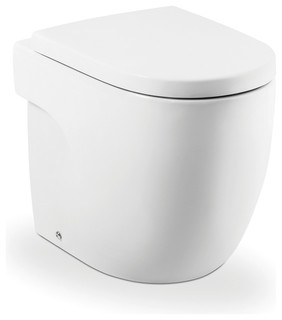 roca meridian btw inwall toilet pan contemporary toilets melbourne by reece australia. Black Bedroom Furniture Sets. Home Design Ideas