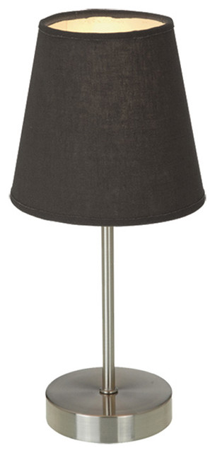 simple designs home office sand nickel basic table lamp