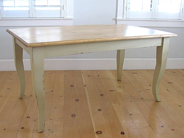 Queen anne cottage dining table traditional dining for Traditional dining table uk