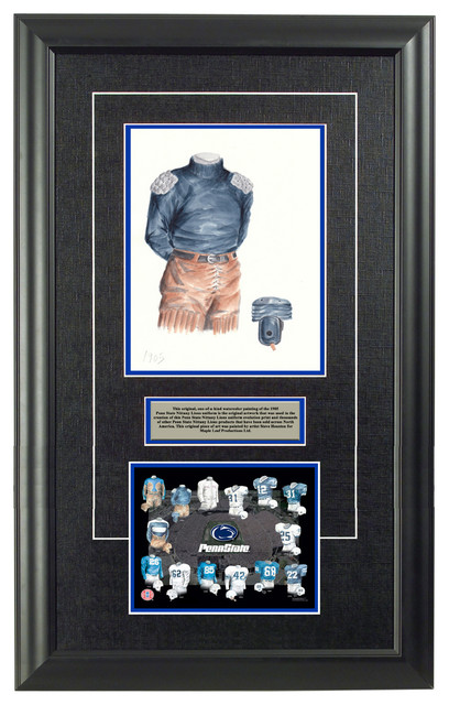 Original art of the ncaa 1905 penn state nittany lions for Penn state decorations home