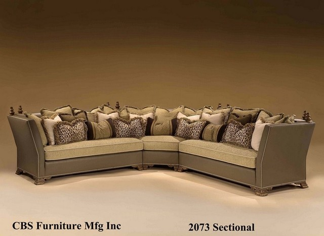 CBS Sectional traditional sectional sofas denver