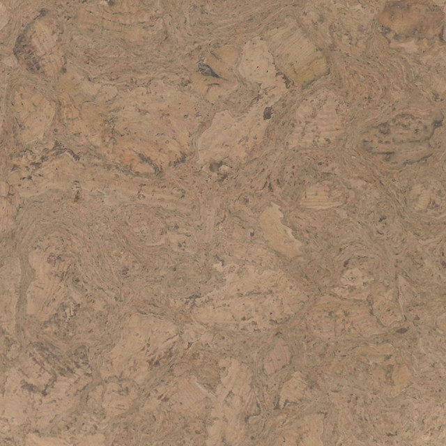 Colored Cork Floor Tiles In Nugget Texture Modern Cork Flooring
