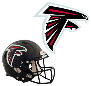 NFL Atlanta Falcons Wall Graphics 4pc Teammate Sticker Set - Contemporary - Game Room Wall Art ...