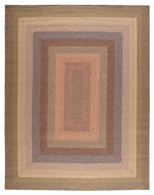 Nourison Craftworks KRA01 Rectangle Rug Farmhouse Rugs by Casa
