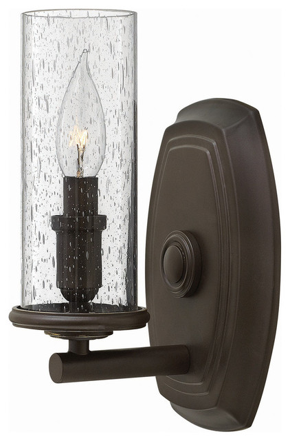 Hinkley Lighting Single Light Wall Sconce - Rustic - Bathroom Lighting & Vanity Lighting - by ...
