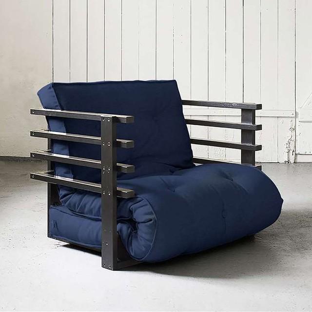 Fresh Futon Black Funk Chair FUNKCBL001 Contemporary