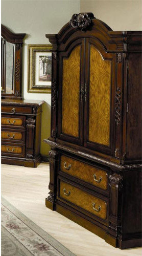 montecito bedroom tv armoire traditional wardrobes and armoires