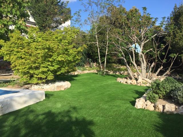C sped artificial para jardiner a y terrazas paraiso xtra - Cesped artificial tarkett ...