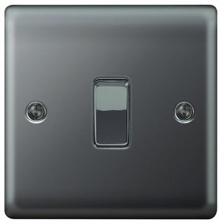10ax switch 1g 2w modern light switches plug sockets by wickes - Modern switches and sockets ...