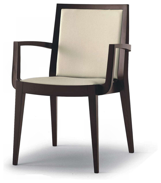 Contemporary dining chairs with arms ivory living room for Contemporary dining room chairs with arms