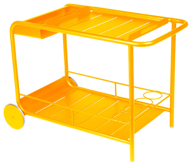Luxembourg bar cart honey contemporary bar carts by one kings