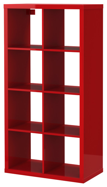kallax moderno librerie di ikea. Black Bedroom Furniture Sets. Home Design Ideas