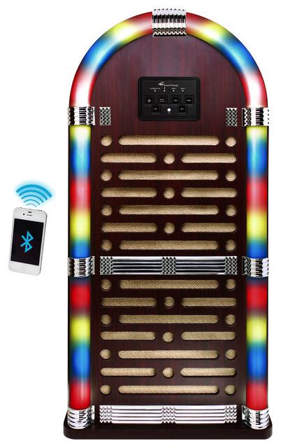 Northwest Big Bluetooth Jukebox Speaker System With Lights ...
