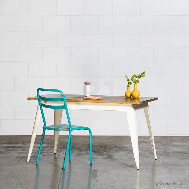 Retro Nash Table Industrial Dining Tables Melbourne By Retrojan