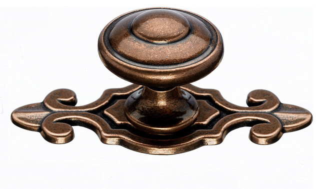 Copper Cabinet Knobs Traditional Cabinet And Drawer