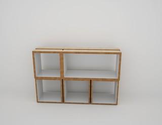 pile ou face rectangulaire contemporain tag re et vitrine par malherbe edition. Black Bedroom Furniture Sets. Home Design Ideas