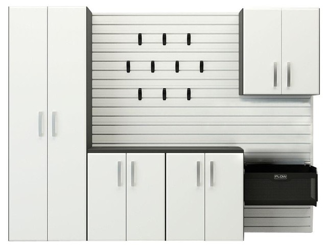 Garage Storage Systems & Accessories: Flow Wall Garage Cabinets Cabinet Starter - Contemporary ...