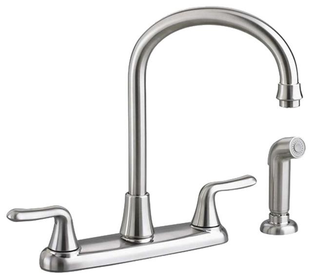 american standard 4275 551 075 colony 2 handle kitchen moen banbury single handle standard kitchen faucet with