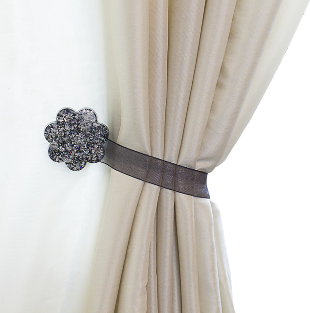 Curtain Clips, Tiebacks, or holdbacks | Set of 2 | Fiore Collection ...