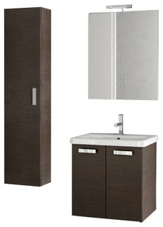 22 inch wenge bathroom vanity set modern bathroom vanity units