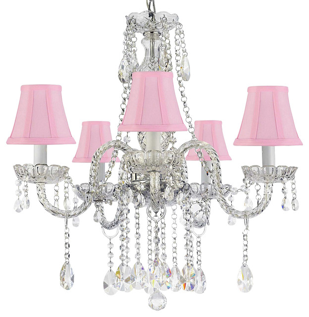 Authentic All Crystal Empress Crystal Chandelier Eclectic Chandeliers By Gallery
