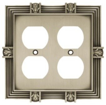 Liberty Hardware 64458 Pineapple WP Collection 4.96 Inch Switch Plate - Modern - Switch Plates ...