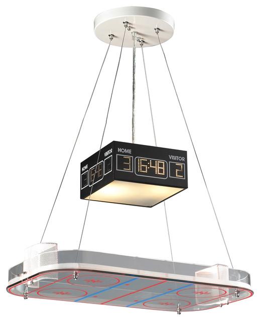Backyard Rink Lighting: Hockey Rink Pendant Light