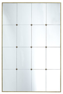 French Panel Mirror Modern Floor Mirrors Dallas By Wisteria