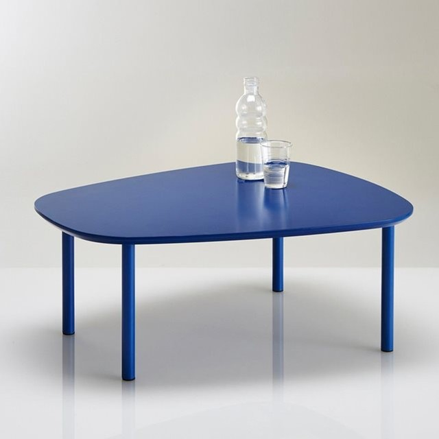 Table basse formes arrondies watford contemporain for Table watford