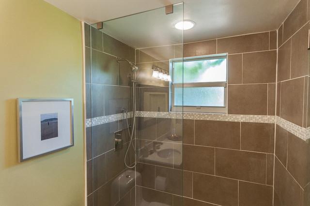 west miami bath remodel transitional bathroom