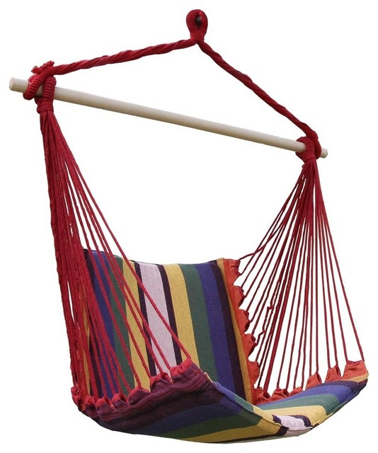 cotton fabric canvas hammock chair contemporary