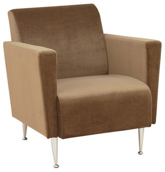 Adesso Memphis Club Chair Contemporary Living Room Chairs miami by Ho