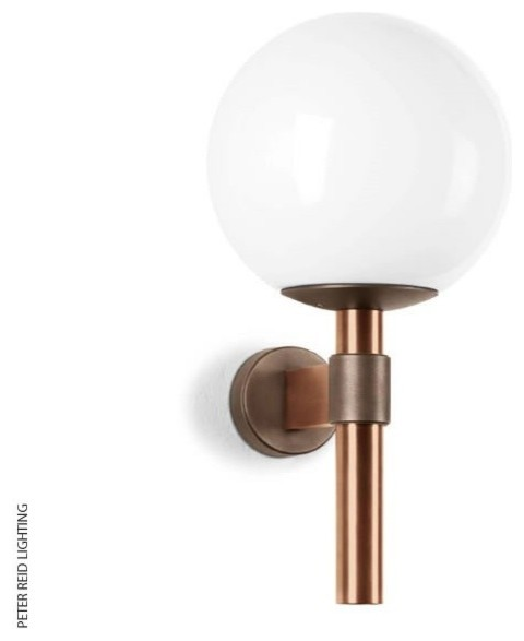 BOOM B 1218 Globe Wall Light LED Contemporary Outdoor Wall Lights South