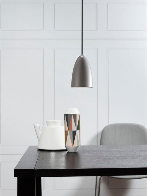 nordlux nexus 10 ceiling pendant brushed steel. Black Bedroom Furniture Sets. Home Design Ideas