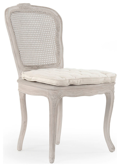 Antique White Dining Room Furniture: Annette Chair, Antique White