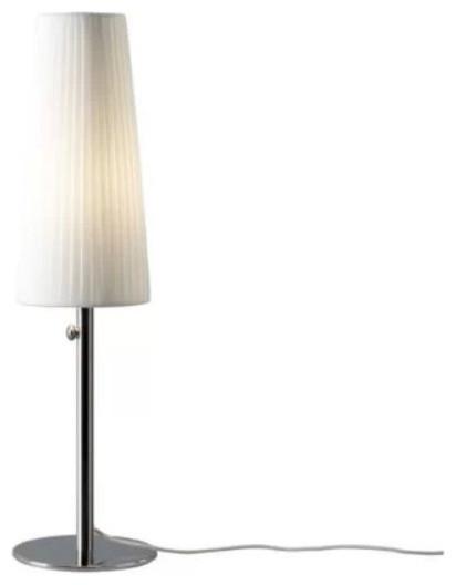 Modern ikea metal and fabric shade dimming lighting table lamp contemporary table lamps - Ikea table jardin aluminium saint etienne ...