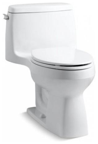 Kohler - Santa Rosa? Comfort Height? Compact Toilet modern-toilets