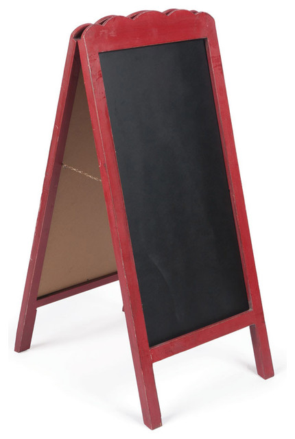 Chalkboard Stand - Rustic - Bulletin Boards And Chalkboards - by Napa Home & Garden