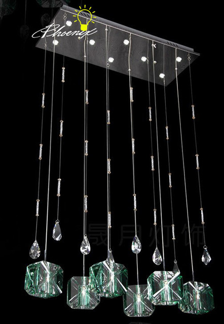 Modern Crystal LED Pendant Lighting